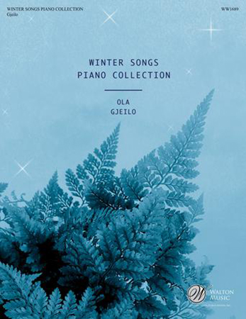 Winter Songs Piano Collection church choir sheet music cover