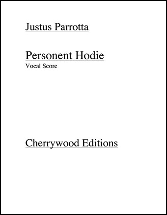 Personent Hodie (Vocal Score)