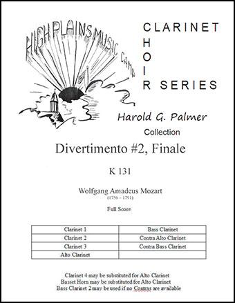 Divertimento No. 2, Finale