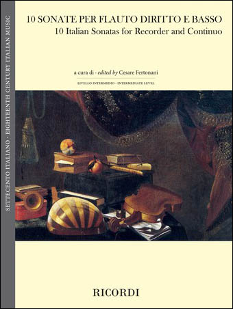 10 Italian Sonatas for Recorder and Continuo