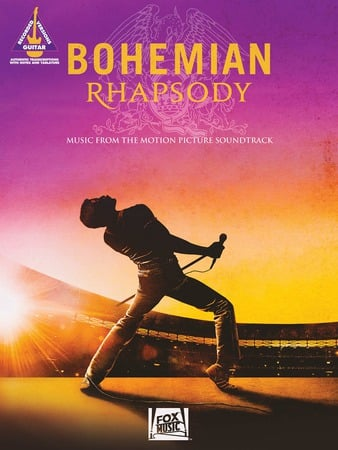 Bohemian Rhapsody guitar sheet music cover