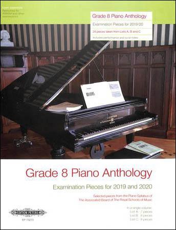 Grade 8 Piano Anthology 2019/2020