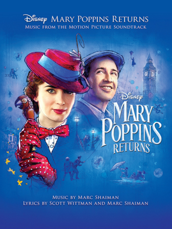 Mary Poppins Returns choral sheet music cover