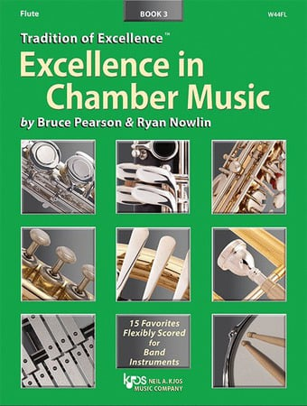 Excellence in Chamber Music, Book 3 Cover