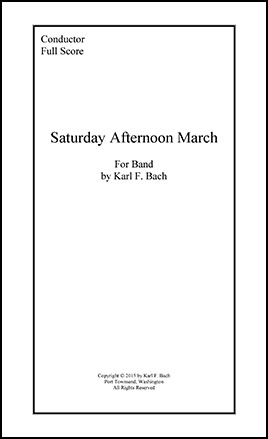 Saturday Afternoon March