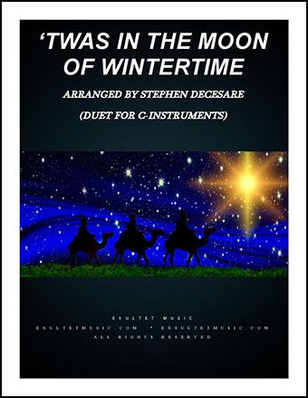 Twas in the Moon of Wintertime (Instrumental Duet)