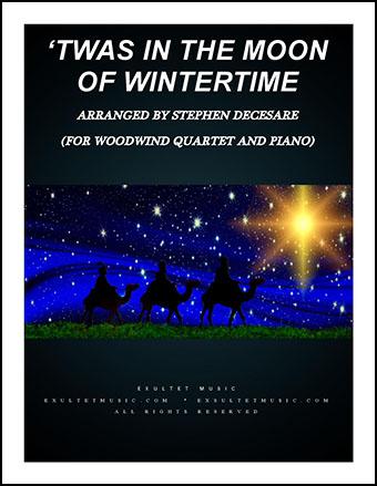 Twas in the Moon of Wintertime (Instrumental Quartet)
