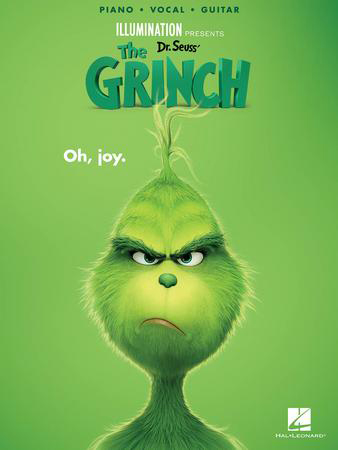 Dr. Seuss' The Grinch library edition cover