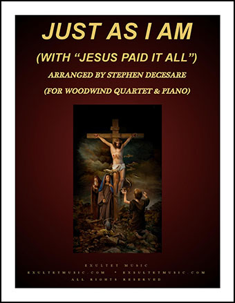 Just As I Am/Jesus Paid It All (Instrumental Quartet)