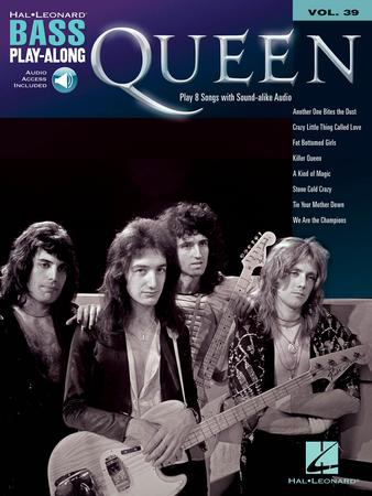 Bass Play-Along, Vol. 39: Queen