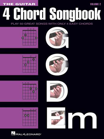 The Guitar 4 Chord Songbook, Vol. 2 guitar sheet music cover