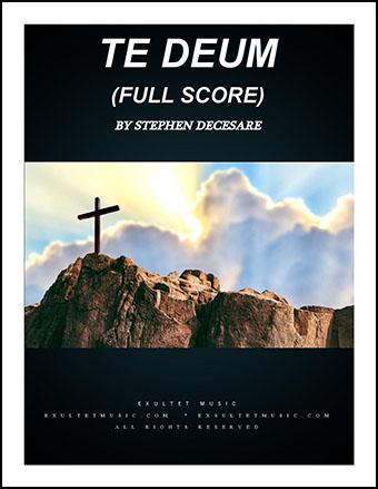 Te Deum (Full Score)
