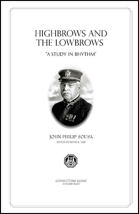 The Highbrows and Lowbrows: A Study in Rhythm