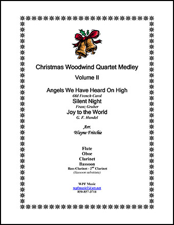 Christmas Woodwind Quartet Medley Volume II