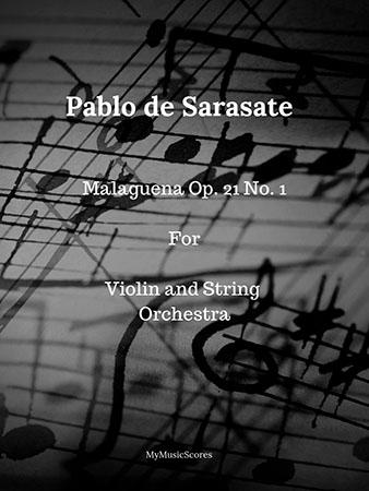 Sarasate Malaguena Op. 21 No. 1