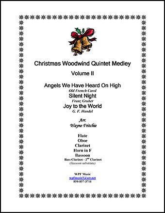 Christmas Woodwind Quintet Medley #2