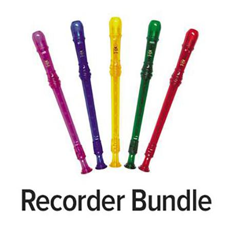 Recorder Bundle: Tudor Soprano Recorders & Recorder Express