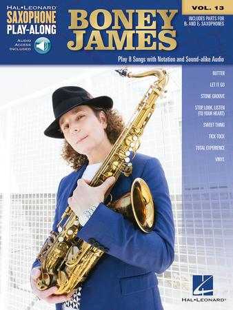 Saxophone Play-Along Volume No.13 - Boney James
