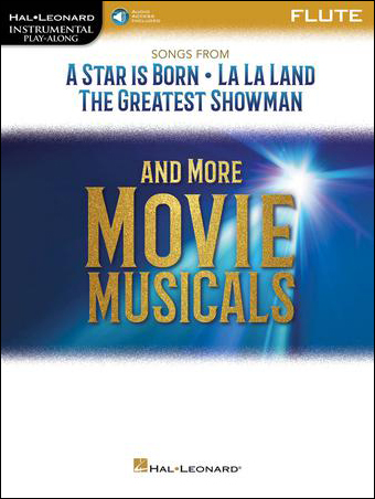 Songs from A Star Is Born, La La Land, The Greatest Showman and More Movie Musicals brass sheet music cover