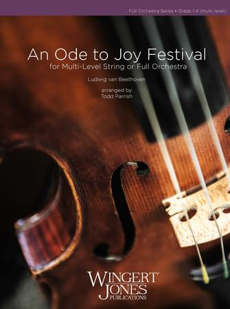 An Ode to Joy Festival midwest sheet music cover