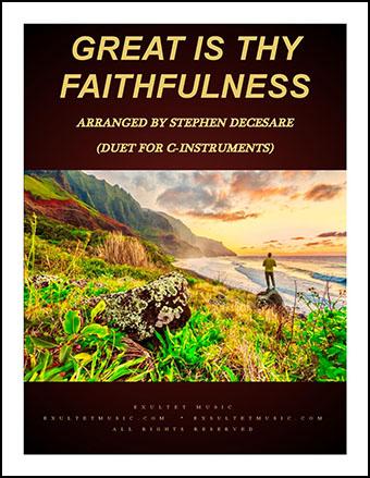 Great Is Thy Faithfulness (Instrumental Duet)