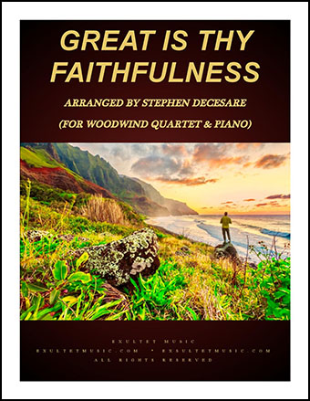 Great Is Thy Faithfulness (Instrumental Quartet)