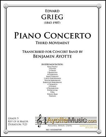 Piano Concerto in A minor (Third Movement)