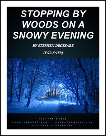Stopping by Woods on a Snowy Evening