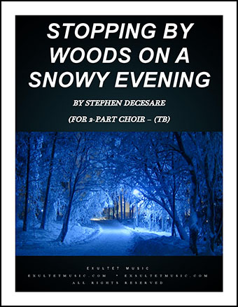 Stopping by Woods on a Snowy Evening Cover