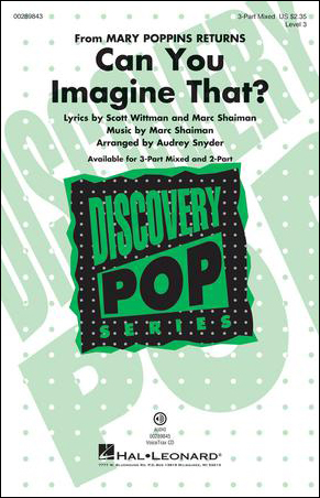 Can You Imagine That? choral sheet music cover