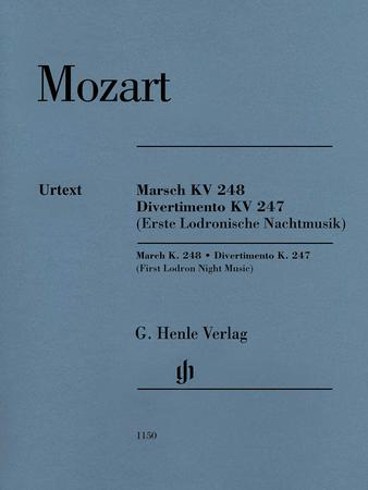 March, K. 248 / Divertimento, K. 247 (First Lodron Night Music)