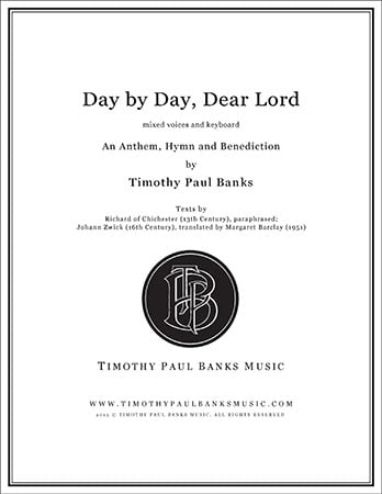 Day by Day, Dear Lord