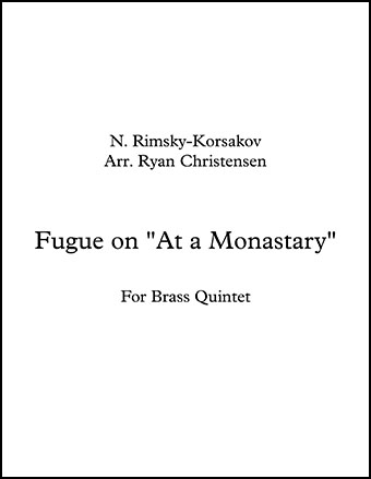 Fugue in a Monastary