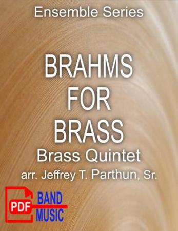 Brahms for Brass Quintet