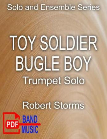 Toy Soldier Bugle Boy