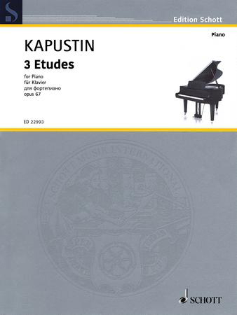 3 Etudes for Piano, Op. 67