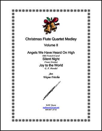 Christmas Flute Quartet Medley Volume II