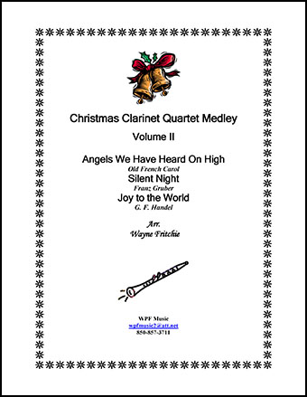Christmas Clarinet Quartet Medley Volume II