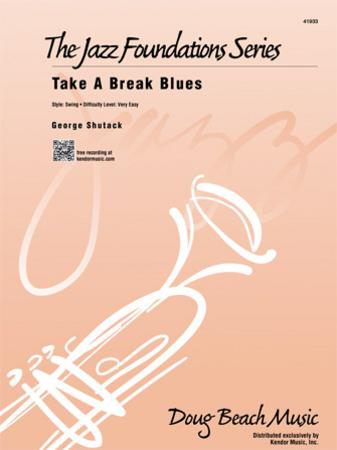 Take a Break Blues jazz sheet music cover
