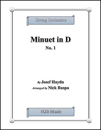 Minuet in D, No. 1 Thumbnail