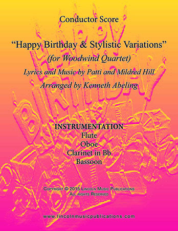 Happy Birthday and Stylistic Variations