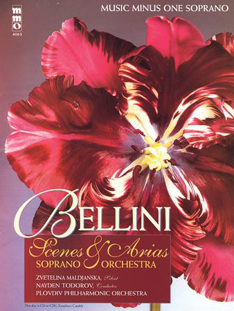 Bellini Opera Scenes and Arias for Soprano and Orchestra