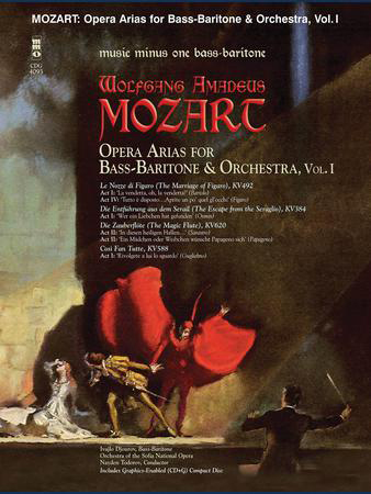 Mozart Opera Arias for Bass Baritone and Orchestra, Vol. 1