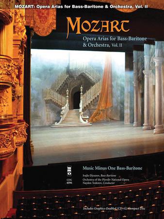 Mozart Opera Arias for Bass Baritone and Orchestra, Vol. 2 Cover