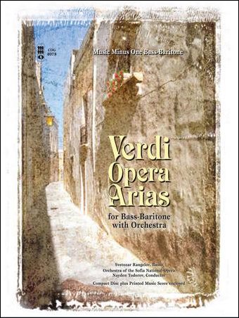 Verdi Opera Arias for Bass Baritone with Orchestra