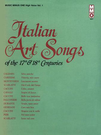 Italian Art Songs of the 17th & 18th Centuries, Vol. 1