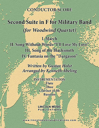 Second Suite for Military Band in F