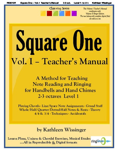 Square One handbell sheet music cover