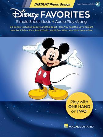 Instant Piano Songs : Disney Favorites
