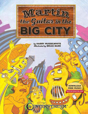 Martin the Guitar in the Big City
